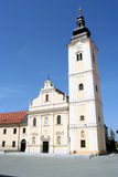 Parish Church. Of St Nicholas in Cakovec, Croatia Royalty Free Stock Images