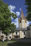 Parish church of Anras Castle in Anras, Austria Royalty Free Stock Photo