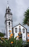 Parish Church of Canico. The Parish Church of Canico on the Portuguese Island of Madeira Stock Photography