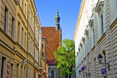 The Parish Church - Cathedral of the Diocese of Bydgoszcz Royalty Free Stock Images