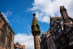 The Parish Church in Chester England Royalty Free Stock Images