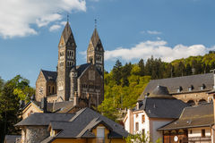 Parish church in Clervaux Royalty Free Stock Images