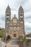 Parish Church in Clervaux Stock Photos