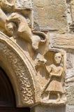 Parish church of Fornovo di Taro. Emilia-Romagna. Italy. Royalty Free Stock Images