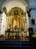 Parish Church in Mijas one of the most beautiful 'white' villages of Andalucia Stock Photography