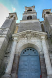 Parish Church in Montfort-sur-Meu in France, the birthplace of S Royalty Free Stock Photo