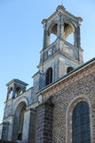 Parish Church in Montfort-sur-Meu in France, the birthplace of S Royalty Free Stock Photography