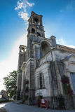 Parish Church in Montfort-sur-Meu in France, the birthplace of S Stock Photography