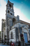 Parish Church in Montfort-sur-Meu in France, the birthplace of S Royalty Free Stock Photos