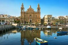 Parish Church in Msida Stock Image