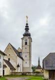 Parish church near Strassburg, Austria Stock Photo