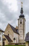 Parish church near Strassburg, Austria Stock Images