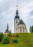 Parish church near Strassburg, Austria Royalty Free Stock Photo