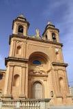 Parish Church of Our Lady of Pompei, Marsaxlokk Stock Photo