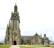 The parish church in Pleyben, France. The parish church in Pleyben, Brittany, Northen France Royalty Free Stock Photos