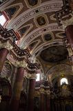 Parish church of Poznań. Inside view Stock Images