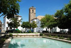 Parish Church, Priego de Cordoba. Stock Photos