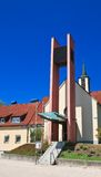 Parish church of the Protestant Church in Portschach.Austria Stock Photography