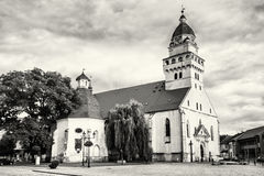 Parish church of saint archangel Michael and funeral chapel of s Royalty Free Stock Photography