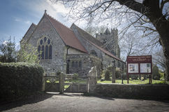 Parish Church of Saint George, Brede, Kent, UK Royalty Free Stock Photography