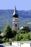 Parish church of Saint Pauls in South Tyrol Royalty Free Stock Photo