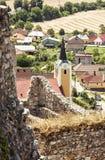 Parish church of Saint Stephen, Beckov, Slovakia Royalty Free Stock Photos