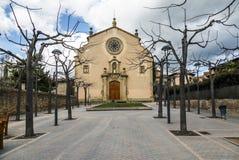 Parish Church of Sant Genis, Spain Stock Images