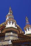 Parish Church of Sant Roma. Lloret de Mar, Costa Brava, Spain Royalty Free Stock Images