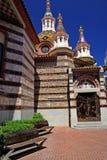 Parish Church of Sant Roma. Lloret de Mar, Costa Brava, Spain Stock Image
