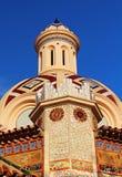 Parish Church of Sant Roma, Lloret de Mar. Parish Church of Sant Roma. Lloret de Mar, Costa Brava, Spain stock photography