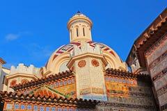 Parish Church of Sant Roma. Lloret de Mar, Costa Brava, Spain Royalty Free Stock Photography