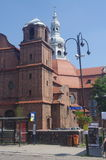 The parish church of St. Anna in Nikiszowiec Stock Photo