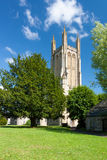The Parish Church of St Cuthbert Wells Royalty Free Stock Photo