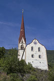 Parish Church of St George and St Nicholas in Oetz Royalty Free Stock Photo
