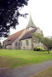 Parish Church of St Martin of Tours. The Parish Church of St Martin of Tours in Chelsfield Kent England Stock Image