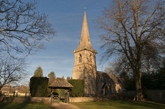 Parish Church. Church of St Mary in Lower Slaughter Gloucestershire Stock Photography