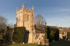 Parish Church. Church of St Peter in Upper Slaughter Gloucestershire Stock Photography