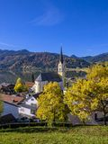 Church St. Sixtus in Schliersee, Bavaria Royalty Free Stock Photo