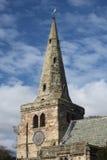 Parish Church tower and Clock Stock Image