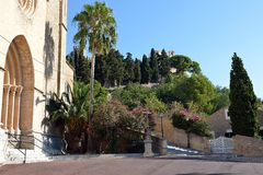 Parish church of Transfiguracio del Senyor. Parish church of Transfiguracio del Senyor, Arta, Mallorca, Spain Royalty Free Stock Photo