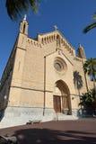 Parish church of Transfiguracio del Senyor Royalty Free Stock Images