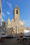 Parish church, Vejer de la Frontera. Royalty Free Stock Photography