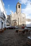 Parish church, Vejer de la Frontera. Stock Images