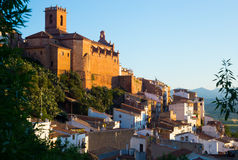 Parish church of Villafames in Valencian region Royalty Free Stock Images