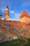 Parish Church and walls Stock Photo