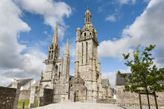 Parish enclosures pleyben in brittany Royalty Free Stock Photos