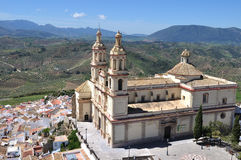 The Parish of Our Lady of the Incarnation, Olvera, Spain Royalty Free Stock Photos