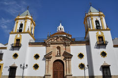 Parish of Our Lady of Socorro, Ronda (Spain) Stock Photography
