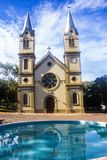Parish of Our Lady of Sorrows. This beautiful church was created on October 30, 1843, being the second oldest parish of the Diocese stock photos