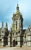 The parish of Saint-Thegonnec, Brittany, France. Stock Images